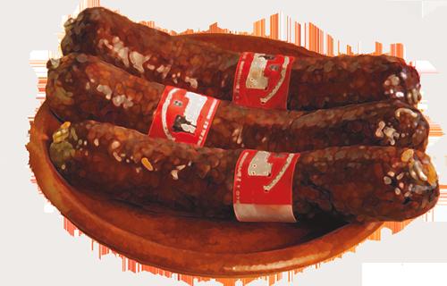 Empanada de morcilla de Burgos con manzana y piñones